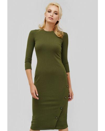 Платье осеннее хаки Cardo