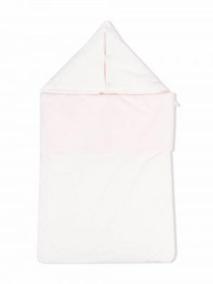 Biała torebka bawełniana Emporio Armani Kids
