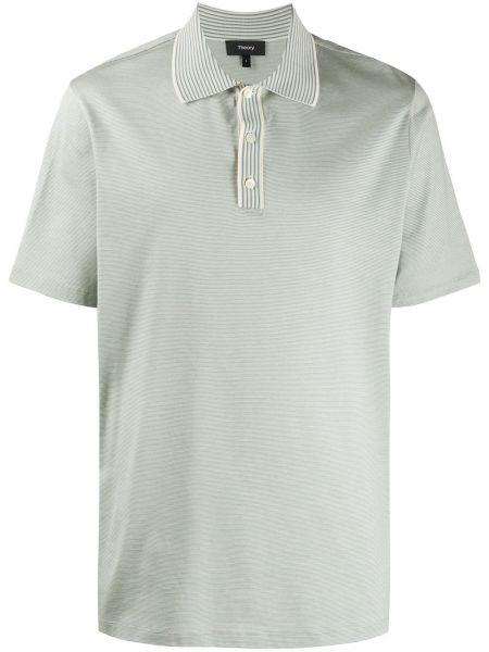 Koszula krótkie z krótkim rękawem klasyczna z paskami Theory
