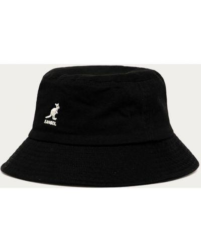 Czarna czapka bawełniana Kangol