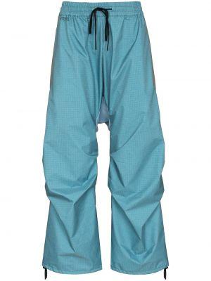 Niebieskie spodnie z nylonu Byborre