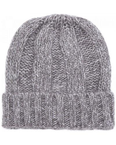 Трикотажная шапка - серая Carlo Visintini