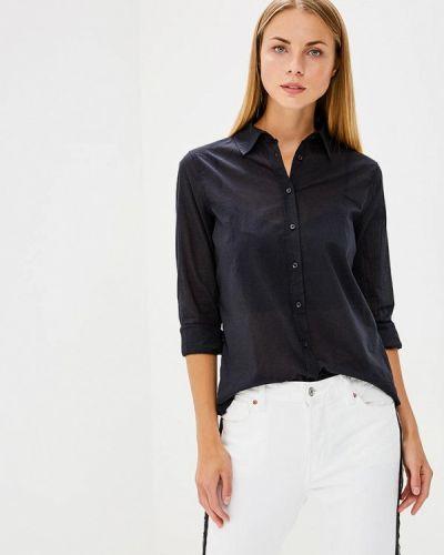 Рубашка с длинным рукавом черная индийский United Colors Of Benetton