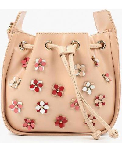 Розовая кожаный сумка Menbur