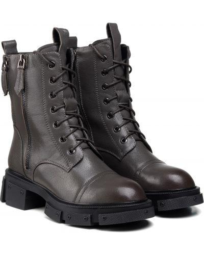 Ботинки - серые Polann