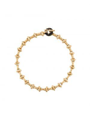 Желтая цепочка из золота Gas Bijoux