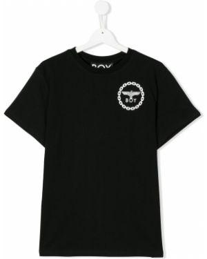 Черная футболка Boy London Kids