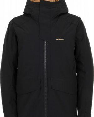 Куртка с капюшоном утепленная черная Merrell