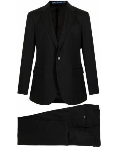 Lniany garnitur - czarny Polo Ralph Lauren
