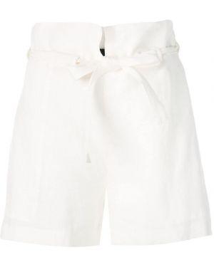 Белые шорты с карманами Nili Lotan