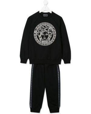 Спортивный костюм с манжетами узкого кроя Young Versace