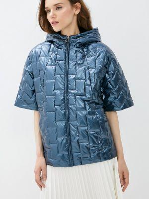 Утепленная синяя куртка Grafinia