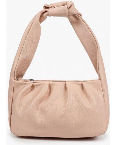 Розовая кожаная сумка Lamania