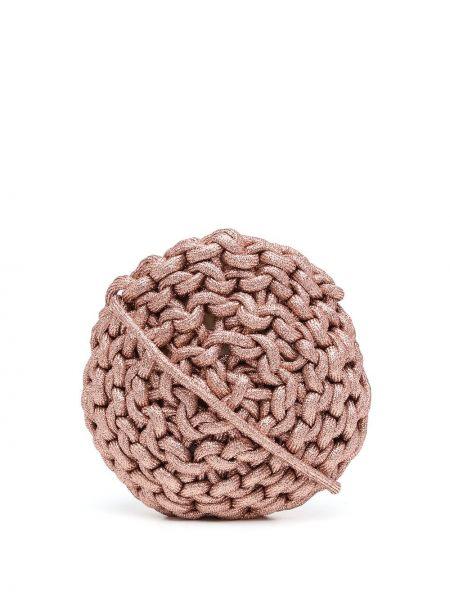 Różowa torebka bawełniana Alienina