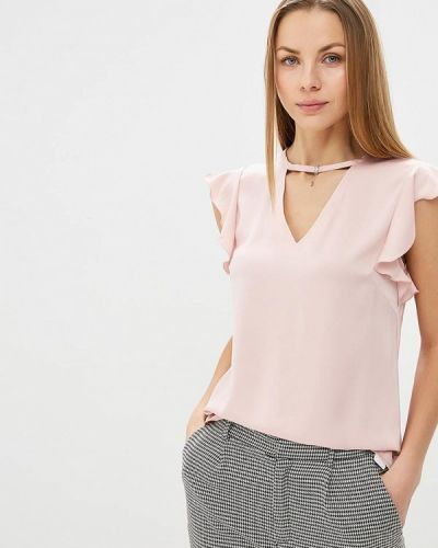 Блузка с рюшами осенняя Zarina