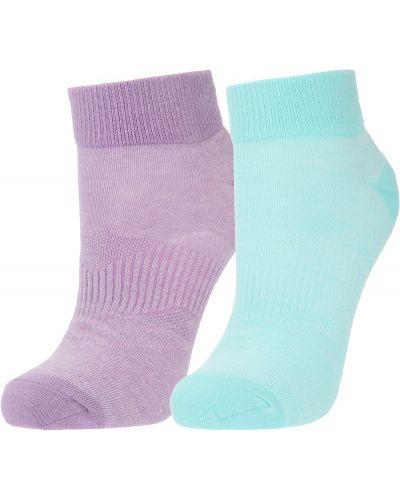 Зеленые хлопковые носки Demix