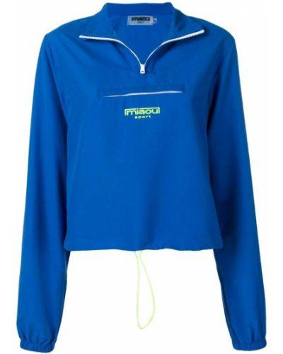 Синяя короткая куртка Miaou