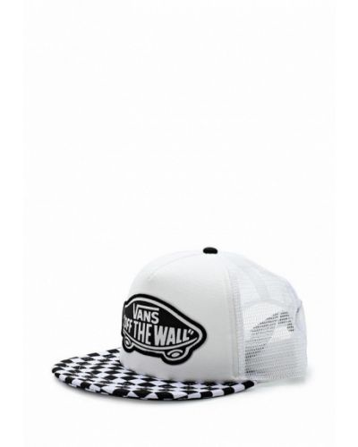 Белая бейсболка Vans