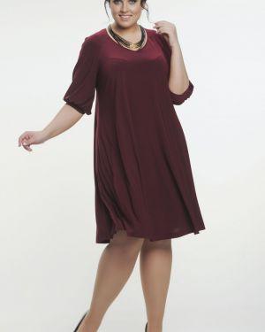 Вечернее платье летнее с V-образным вырезом прима линия