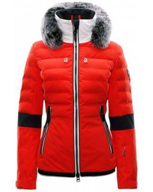 Оранжевая горнолыжная куртка Toni Sailer