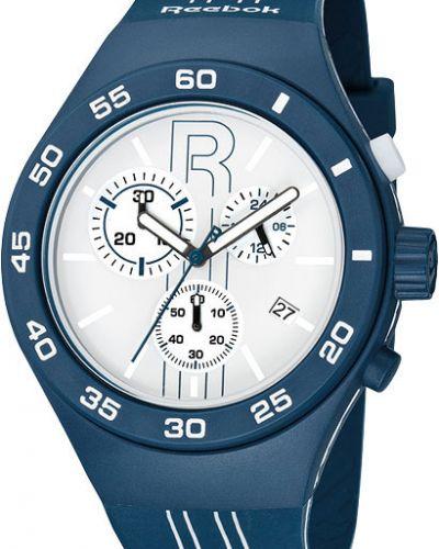 Часы водонепроницаемые белые силиконовые Reebok