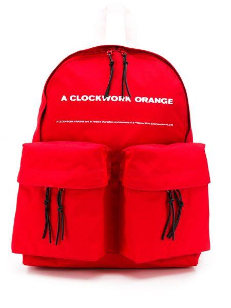 Pomarańczowy plecak z nylonu Undercover