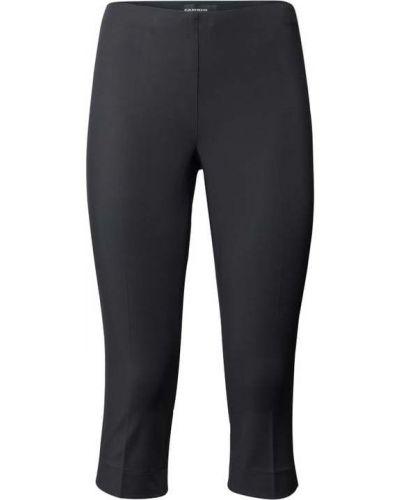 Czarne spodnie bawełniane Cambio