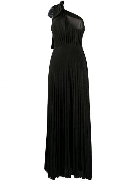Вечернее платье на одно плечо со складками Elisabetta Franchi