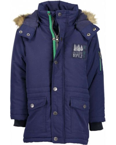 Куртка теплая синий Blue Seven