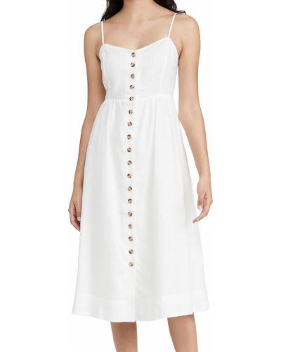 Льняное платье миди Madewell