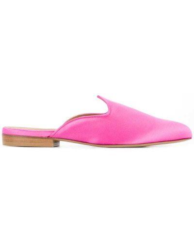 Розовые мюли на каблуке Le Monde Beryl