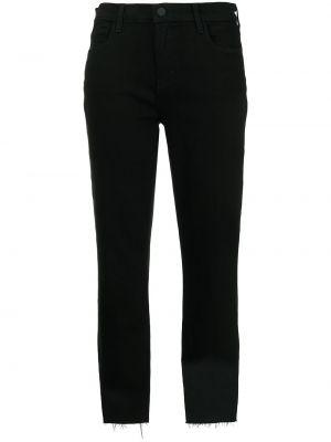 Прямые джинсы классические - черные L'agence