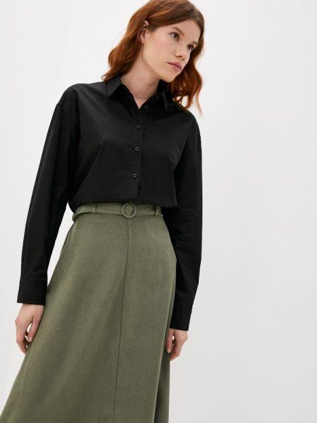 Черная рубашка с длинными рукавами Antiga