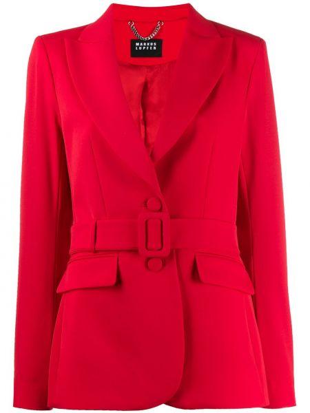 Пиджак двубортный красный Markus Lupfer