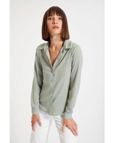 Koszula - khaki Trendyol
