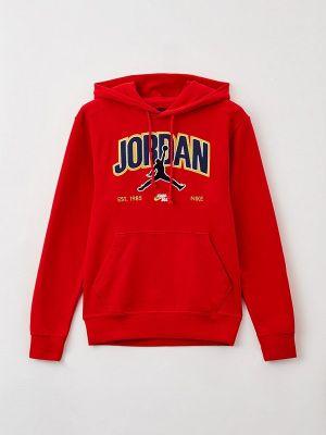 Толстовка - красная Jordan