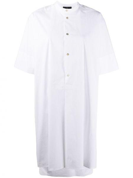 Платье мини на пуговицах платье-рубашка Fay