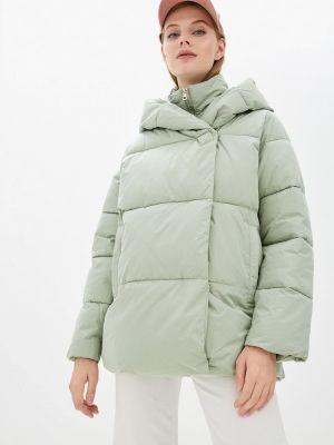 Зеленая куртка осенняя Zolla