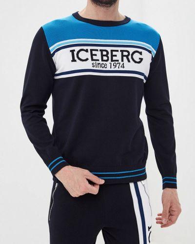 Джемпер синий Iceberg