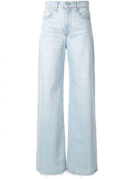 Широкие джинсы mom на пуговицах Nobody Denim