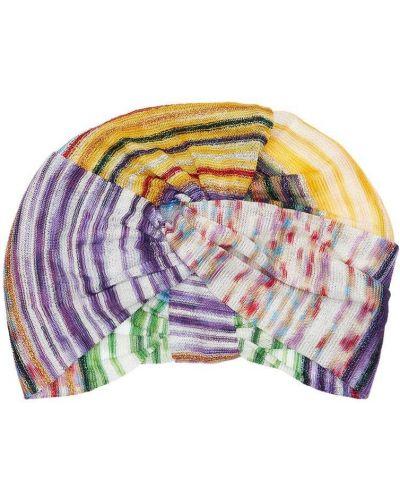 Turban z paskami Missoni