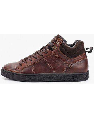 Высокие кроссовки коричневый Paolo Conte