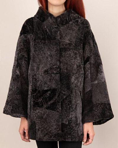 Куртка с мехом - коричневая Dzhanbekoff