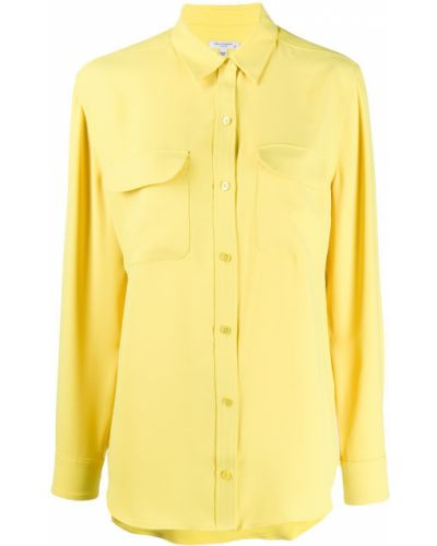 Классическая рубашка без воротника с карманами Equipment