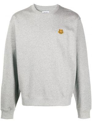 Bawełna bawełna prosto z rękawami bluza Kenzo