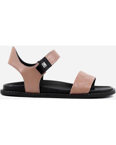 Бежевые сандалии Leberdes