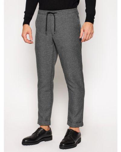 Szare spodnie materiałowe Tommy Hilfiger