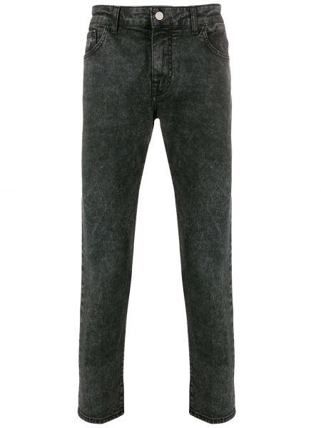 Зауженные джинсы-скинни на пуговицах из микрофибры Entre Amis