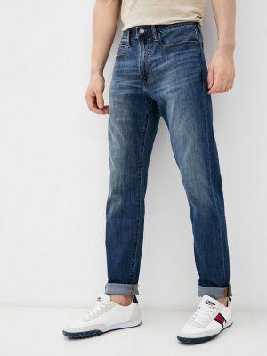 Синие прямые джинсы Gap