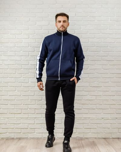 Теплый спортивный костюм - синий Kml
